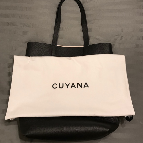 587bbad93773 Cuyana Handbags - Cuyana Tall Structured Leather Tote